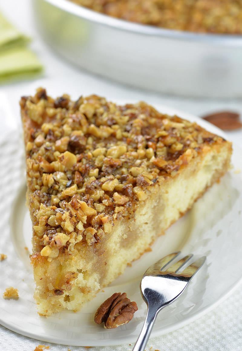 Pecan Pie Coffee Cake OMG Chocolate Desserts