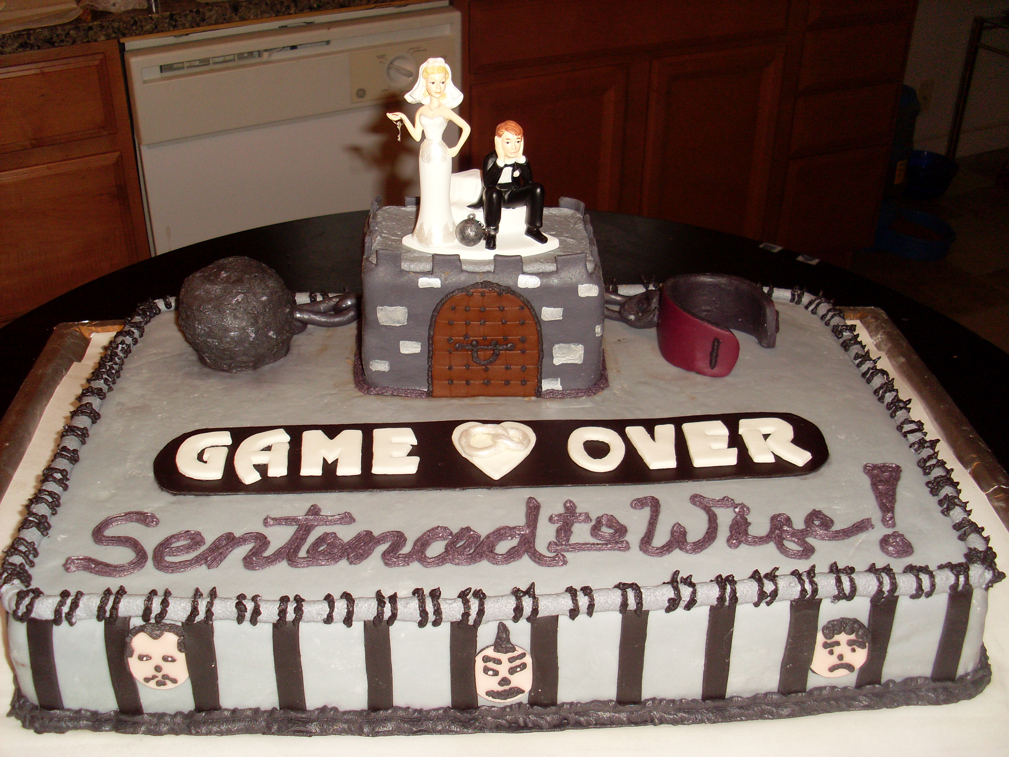Game Over Wedding Cake OMG Cakery