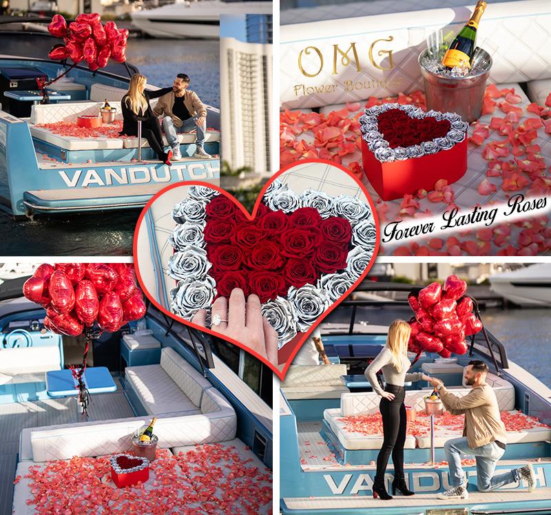 OMG Flower Boutique Forever Lasting Roses