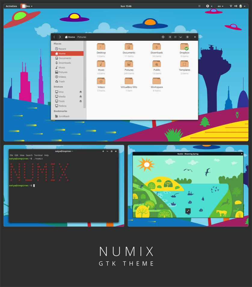 How To Install Numix Theme And Icons In Ubuntu 18 04 | Omgfoss com