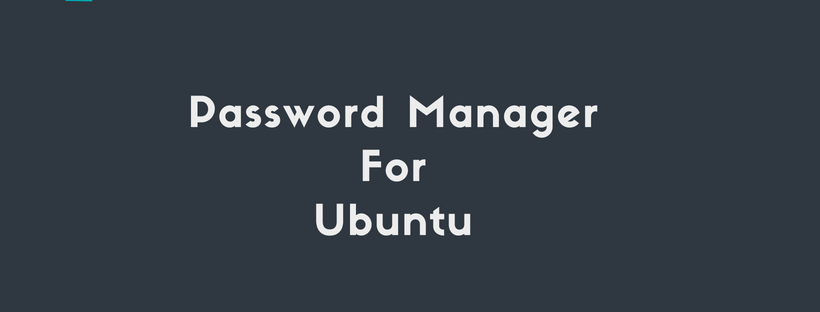 password manager for ubuntu
