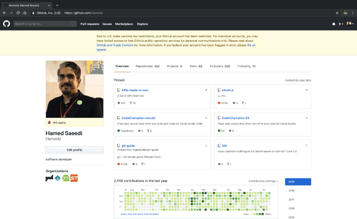 GitHub Is Blocking Developers From Countries Like Iran, Syria And More