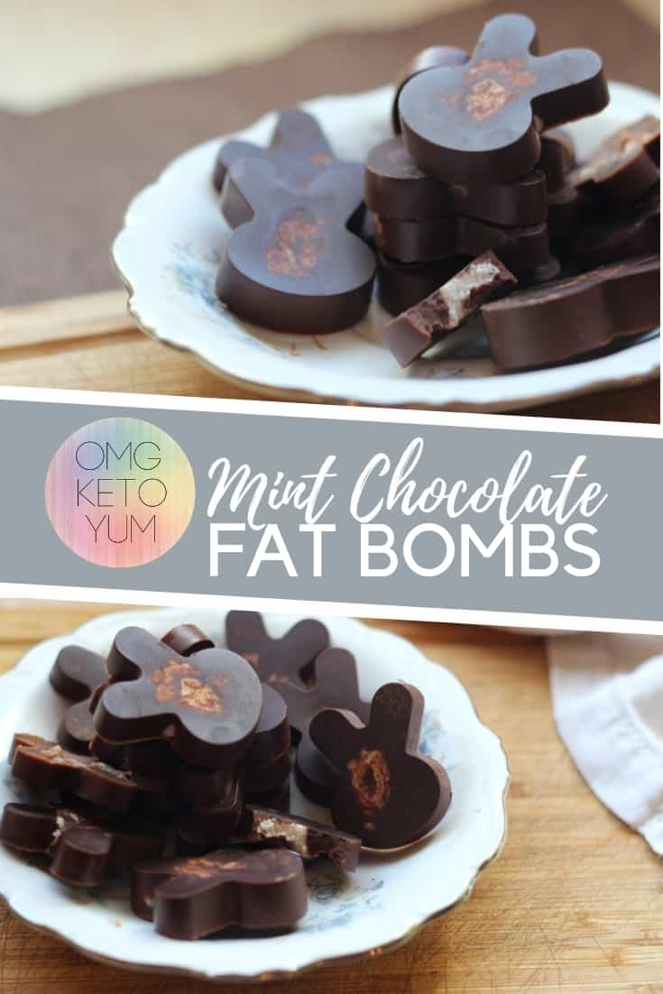 Mint Chocolate Fat Bombs are great for your keto diet. These little bites of yum have the classic pairing of Mint and Chocolate but clock in at just under a carb a piece!