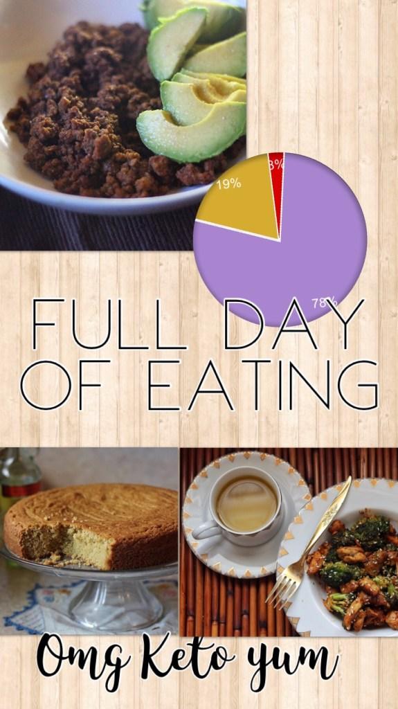 omg keto yum full day of eating