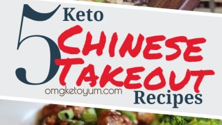 Five Keto Chinese Takeout Recipes