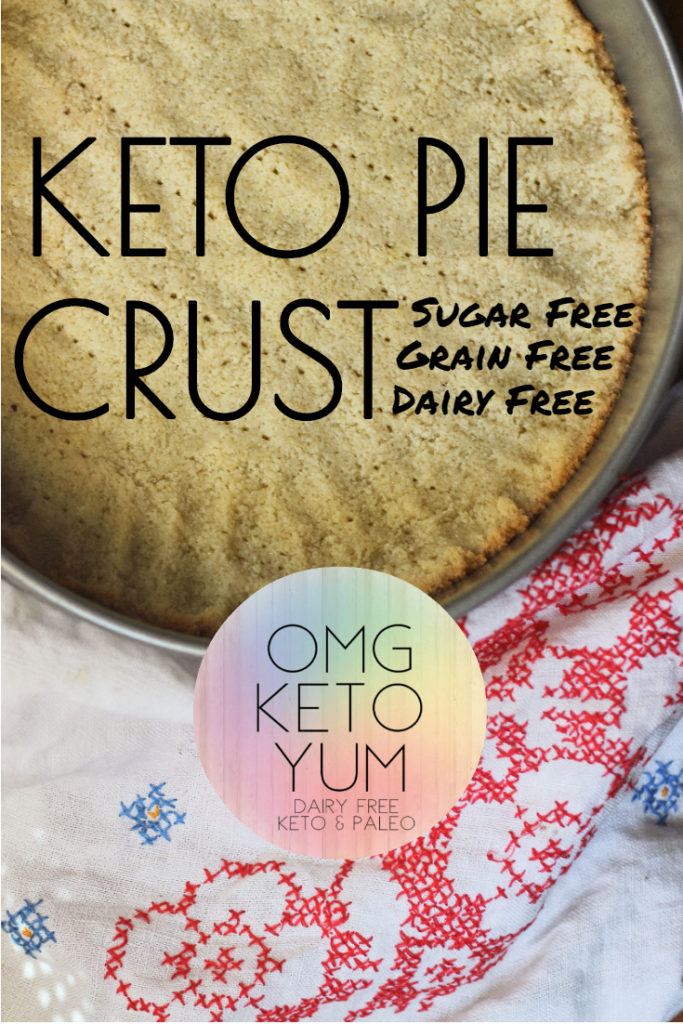 OMG KETO YUM PIE CRUST