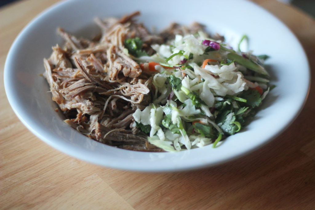 Perfect Pulled Pork and Cole Slaw from OMG KETO YUM