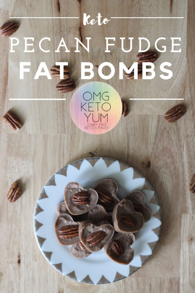 Keto Pecan Fudge Fat Bombs