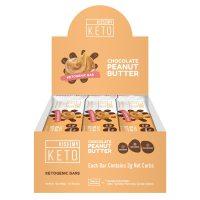 Peanut Butter Chocolate Keto Bars
