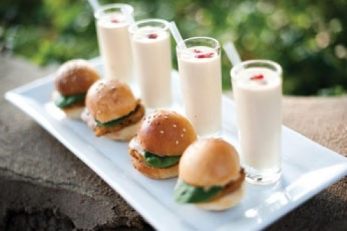 Mini Burger & Shake Shooters