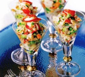 Crab Salad Shooters