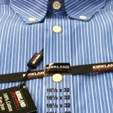 Kirkland No Iron Shirt in Blue