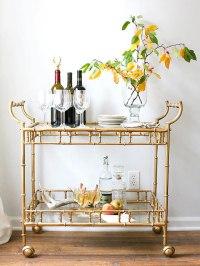 The Portable Bar | Chic Bar Carts & Butler Trays