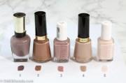 5 favorite neutral nail polish