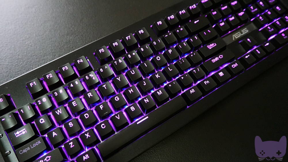 Unboxing Asus Sagaris Gk1100 Rgb Backlit Mechanical Gaming Keyboard