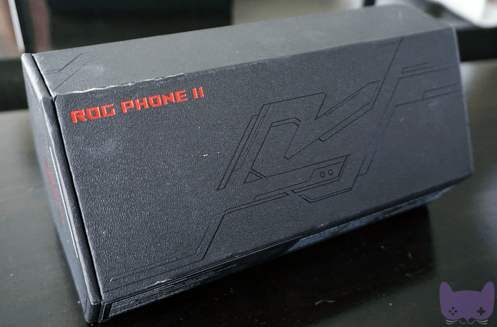 ROG Phone 2 Unboxing Box Design