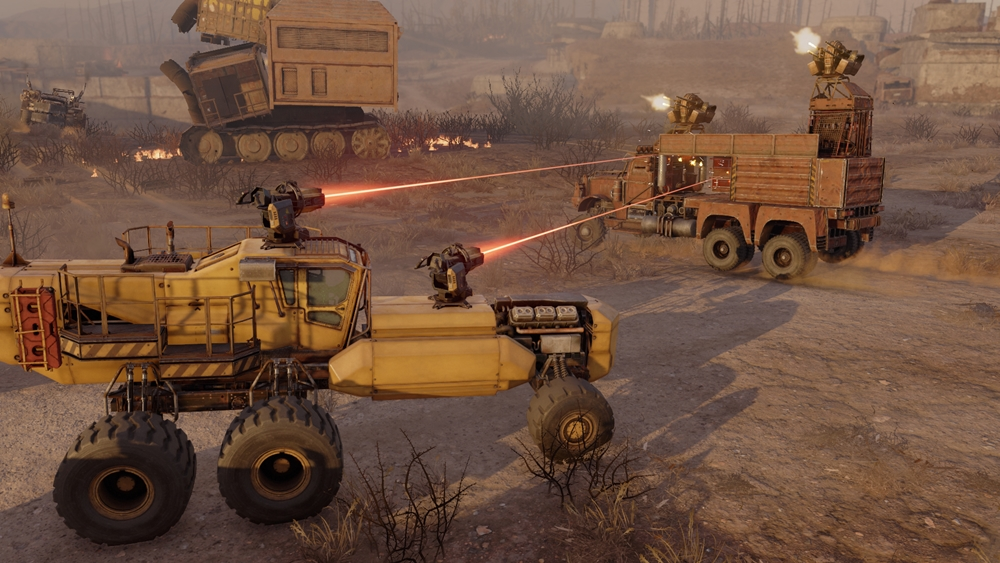 Drive Custom Vehicles Into War