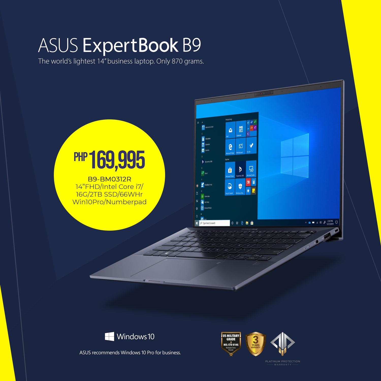 ASUS ExpertBook B9 (B9450) - Php 169,995