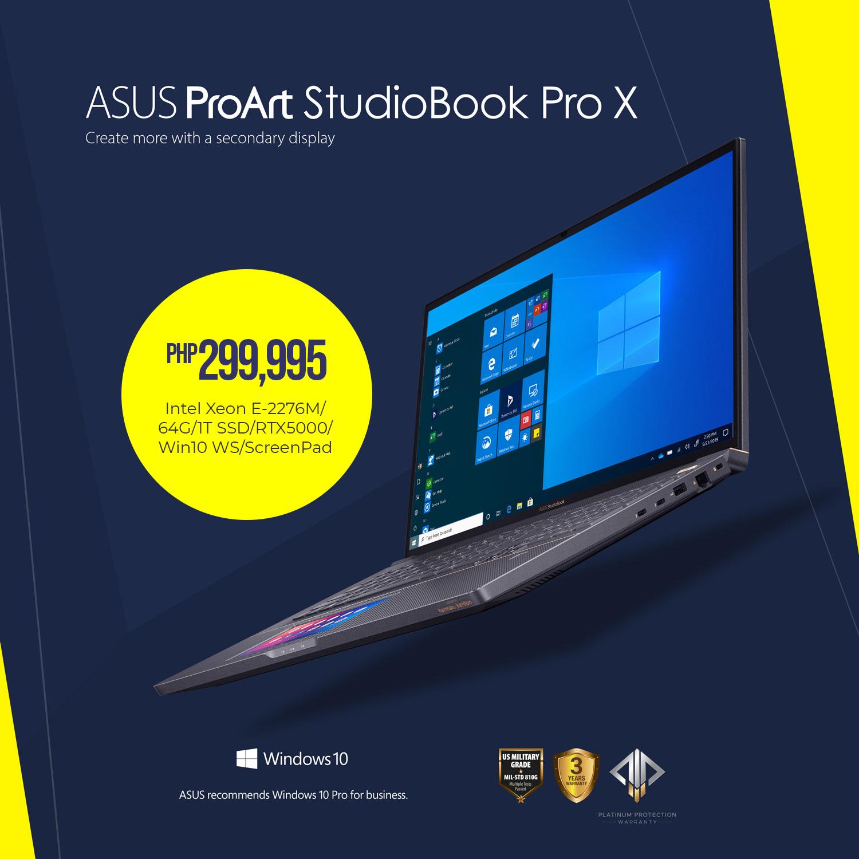 ASUS ProArt StudioBook Pro X - Php 299,995