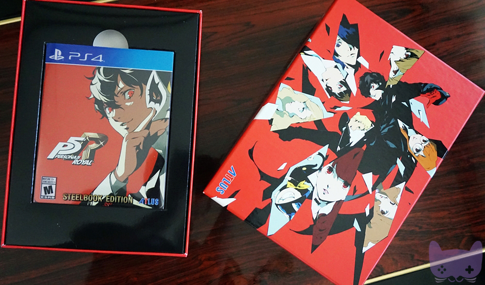 P5R Phantom Thieves Edition Item Inclusions