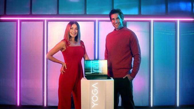 Celebrity Couple Solenn Heussaff & Nico Bolzico Join The Lenovo Family