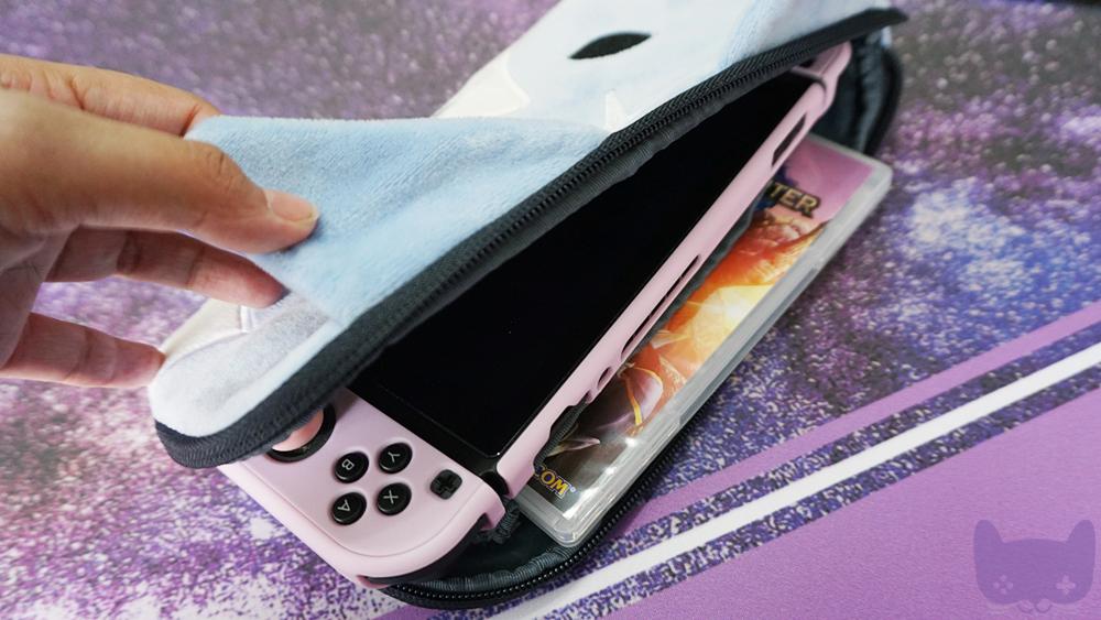 MH Rise Nintendo Switch Pouch - Palamute