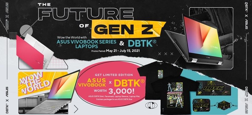 asus vivobook dbtk partnership