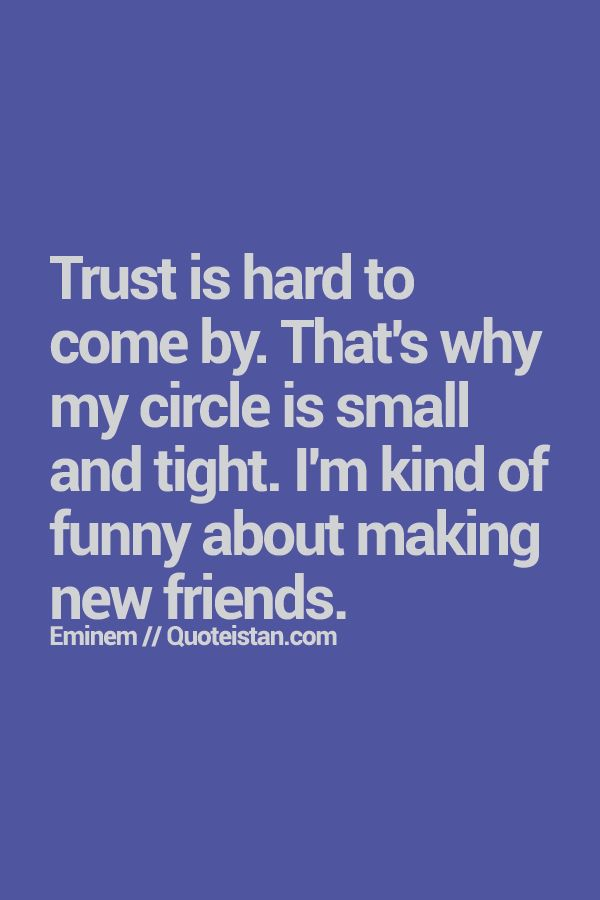 Of small quotes circle friends 28 Short