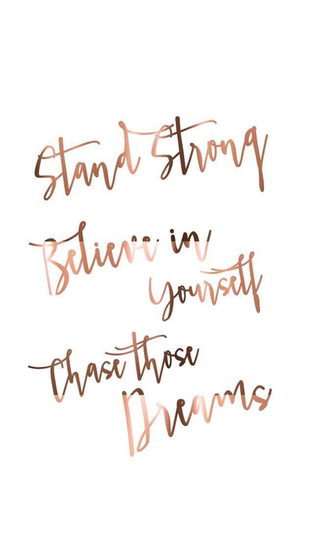 Cursive Inspirational Short Quotes