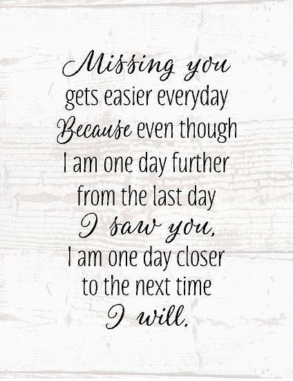 Missing Quotes : Missing You Wood Sign or Canvas Wall Art