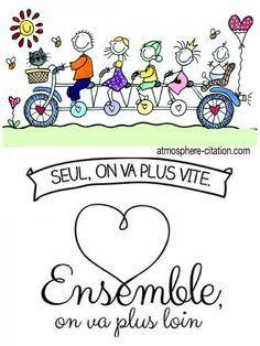 Ensemble On Va Plus Loin : ensemble, Missing, Quotes, Vite., Ensemble, Daily, Motivation, Positivity,, Quotes,, Sayings, Short, Stories