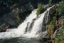 Беловский водопад во всей красе