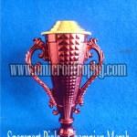 Jual Bagian Trophy Piala Plastik Murah - Champion Merah