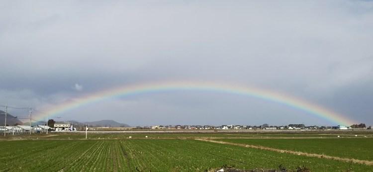 180°の虹_近江八幡市