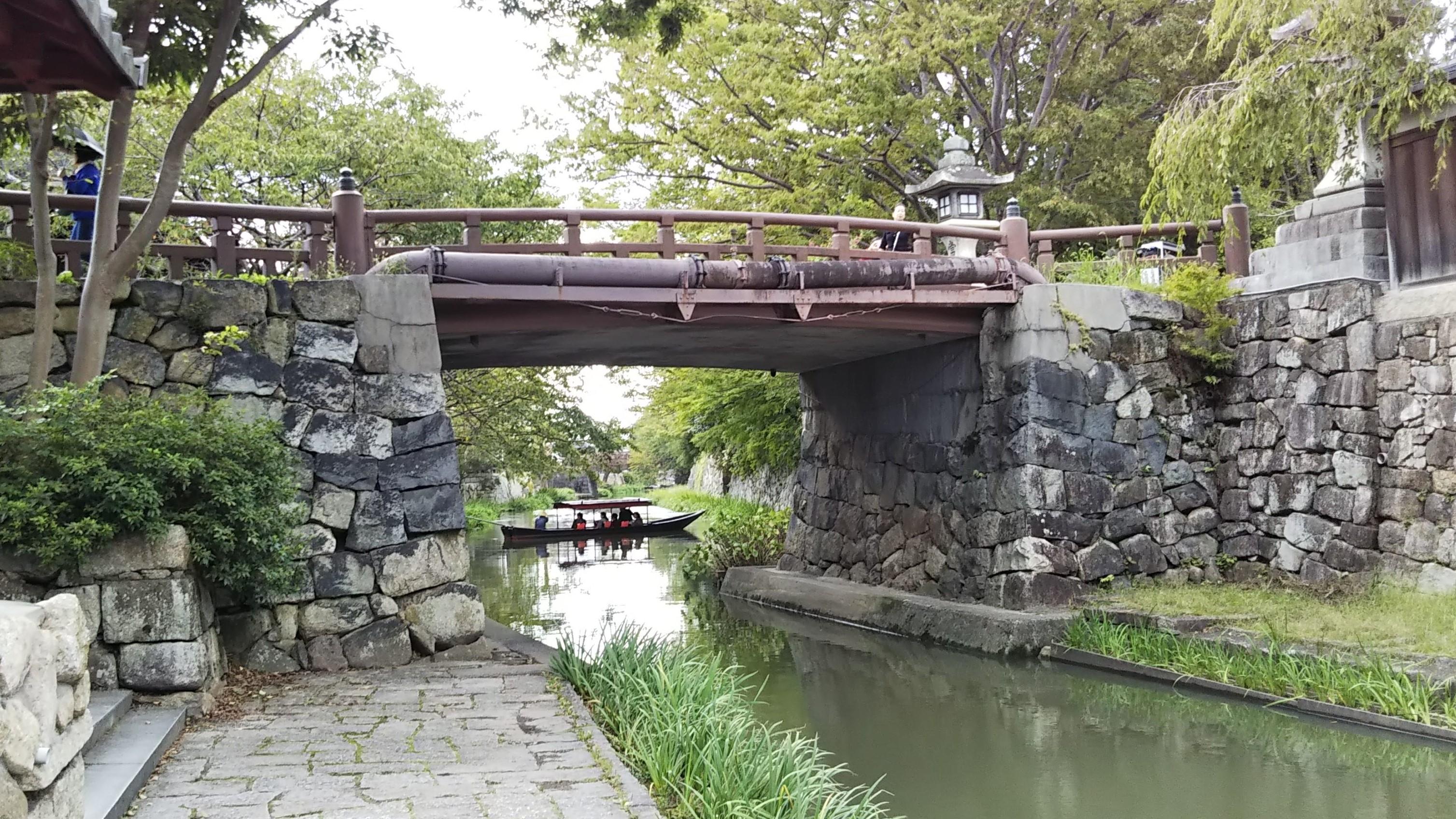八幡堀_白雲橋