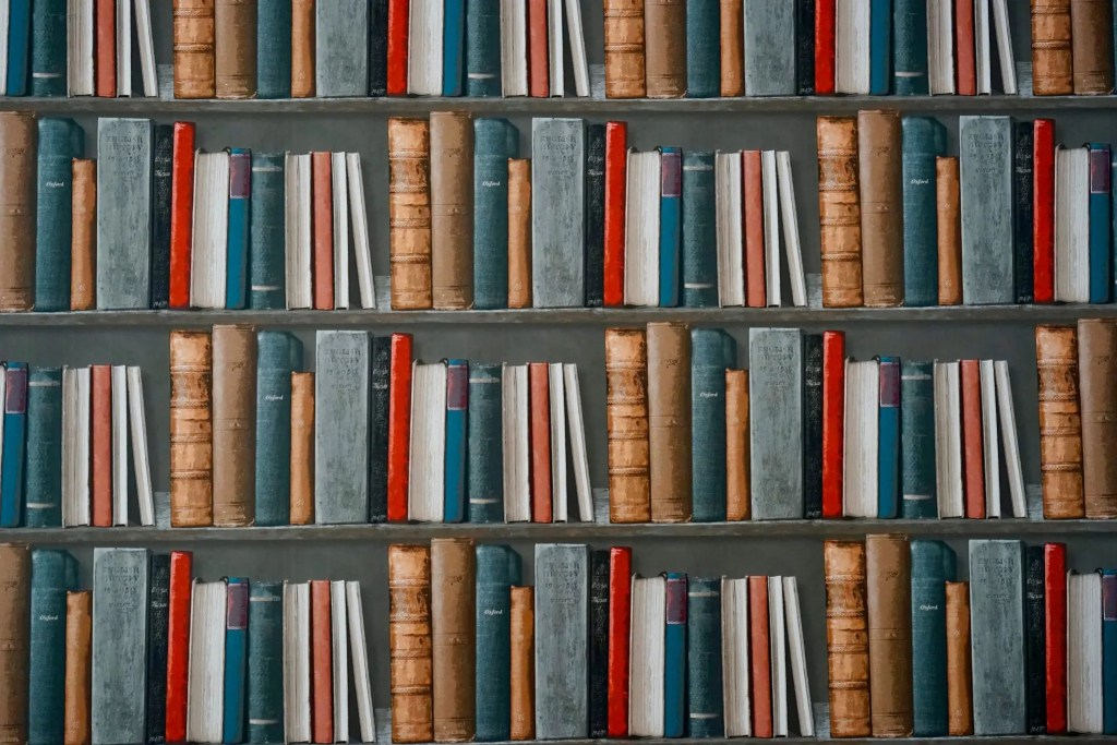bookcase-books-The Public domain