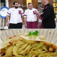 Chefi la cuțite, prima semifinală. Rețeta delicioasă de spaghete aglio olio a lui Alex Bădițoaia
