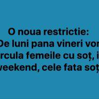 O noua restrictie!🤣