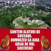 Alaturi de cei din Suceava!🙏🙏🙏
