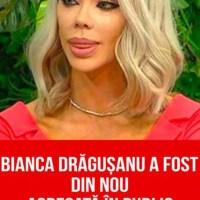 Bianca Drăgușanu a fost din nou agresată în public! Strânsă de gât și pălmuită de către Alex Bodi și un prieten al acestuia
