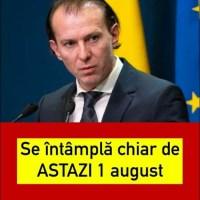 """ULTIMA ORA! Florin Cîţu, veşti proaste pentru români: """"Nu se renunţă la mască în interior nici de la 1 august"""""""