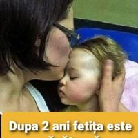 O mama si-a dus fetita in varsta de un an si cateva luni la spital pentru ca starea ei se agravase vizibil.
