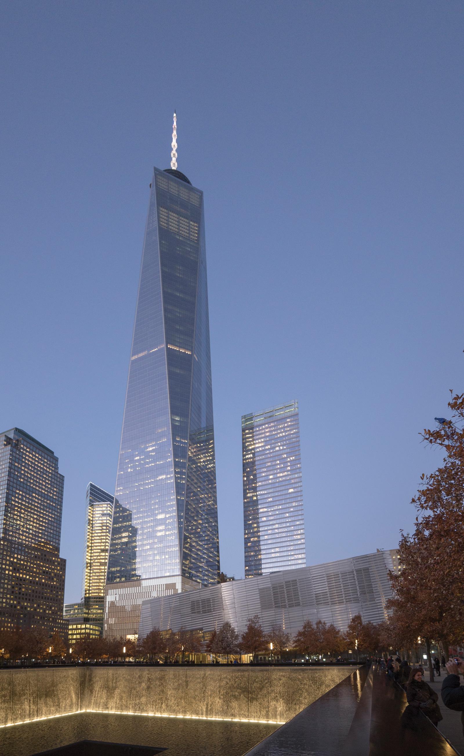 One World Trade Center Facade  Ornamental Metal Institute of New York