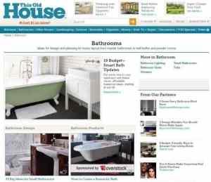 this old house - ideje za kopalnice prenova ploščice omisli si