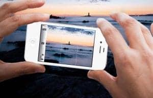 Dobra fotografija s telefonom bo nastala, če se osredotočite na objekt!