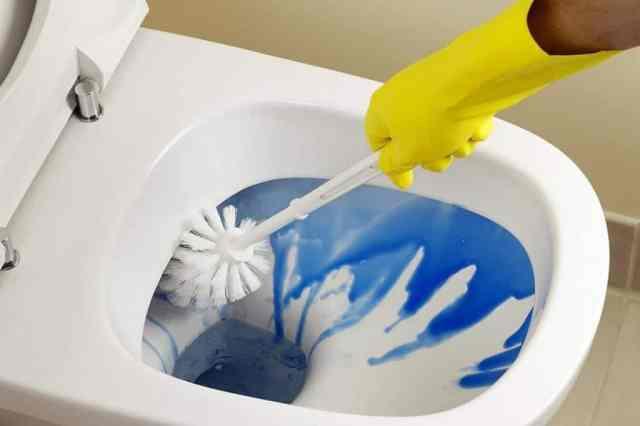 Čiščenje straniščne školjke je najbrž eden izmed najmanj priljubljenih hišnih opravil