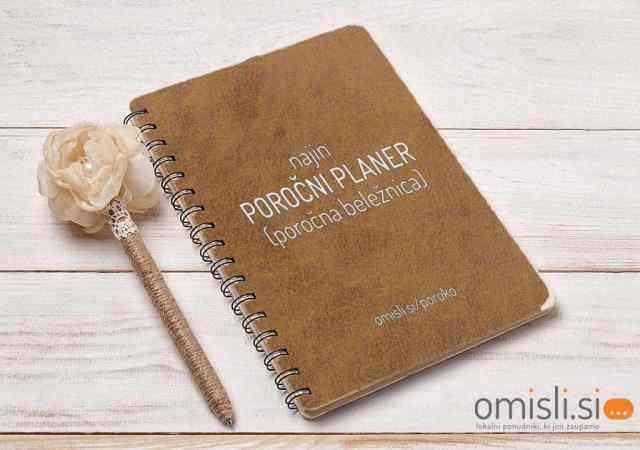 poročni planer poročna beležnica