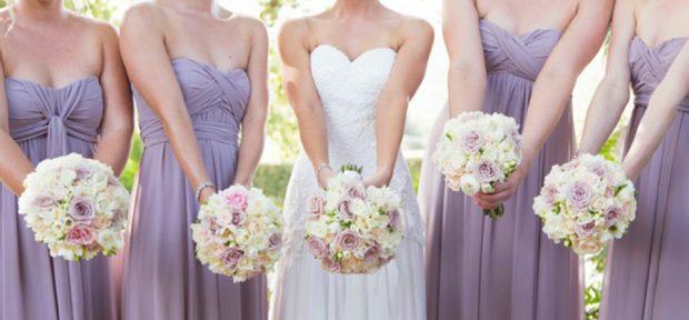 poročni šopek in poročno cvetje cene družice