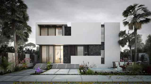 eko sklad fasada (bela)
