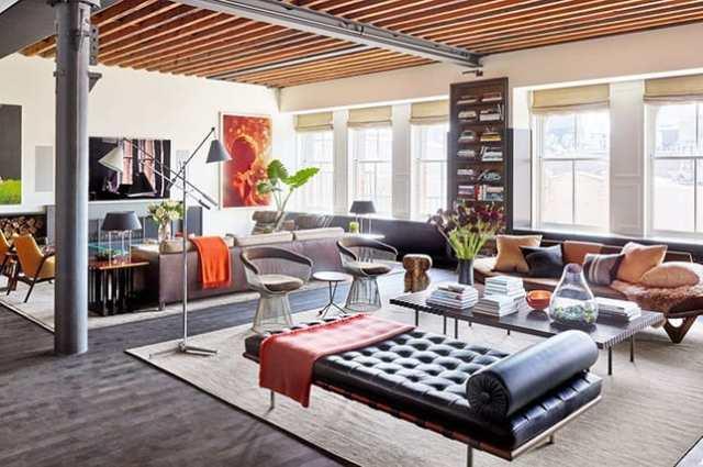 ideje za interier in notranje oblikovanje doma - industrijski stil